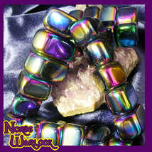 3 Magnetic Hematite Gemstones for Psychic Protection Metaphysical haunted NW610 - $9.99