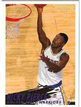 1994-95 Fleer NBA Basketball Trading Card - Ricky Pierce #287 Warriors - $3.95