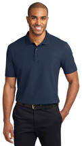 Port Authority TLK510 Tall Stain-Resistant Polo Shirt - Navy - $17.98+
