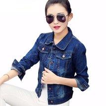 Short Vintage Single Breasted Denim Jackets For Women - $38.91