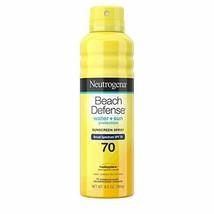 Neutrogena Beach Defense Body Spray Sunscreen with Broad Spectrum SPF 70... - $12.28
