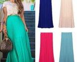Aisy dress for less skirts tropical long pleated chiffon maxi skirts 1232212361247 thumb155 crop