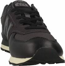 New Balance Men's 574 V2 Low Hiker Sneaker, Black/Black/White,13 W US/13UK/47 EU - $87.95