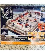 NHL Sports Hockey Rink Building Blocks GameDay Rink Set 582 pcs - $79.00