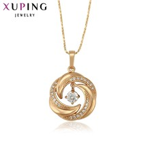 Xuping Fashion Pendant Rose Gold Color Plated For Women High Quality Spe... - $13.03