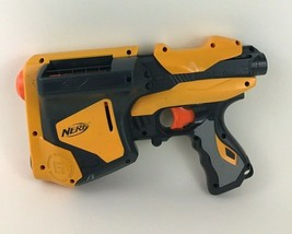 Nerf Dart Tag Speedload 6 Pistol Gun High Speed 2010 Hasbro with Tag Darts - $24.91