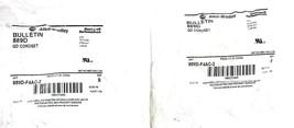 LOT OF 2 NEW ALLEN BRADLEY 889D-F4AC-2 QD CORDSETS 4-PIN 2-METER, SER. B