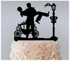 Gay,Wedding,Cake topper,Cupcake topper,silhouette Groom and Groom : 11 pcs - $20.00