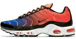 "NIKE AIR MAX PLUS ""GRADIENT PACK"" TOTAL CRIMSON/BLUE SIZE 11 NEW (852630... - $119.95"