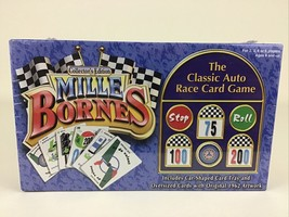Mille Bornes Collector's Edition Classic Auto Race Card Game New Sealed Hasbro 2 - $37.57