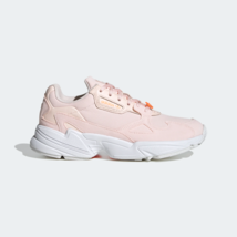adidas Originals Womens Falcon Running-inspired shoes pink tint - $163.79