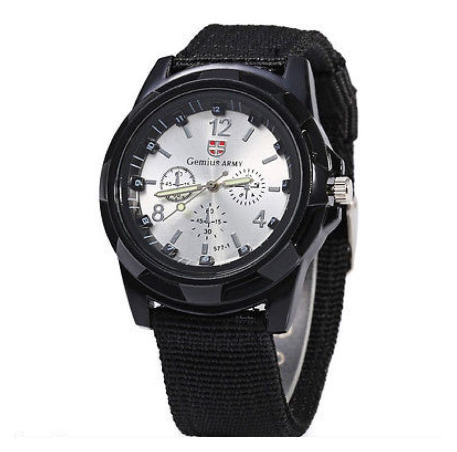 Army Men's Outdoor Sports Watch Watch Canvas Band Wristwatch AH5