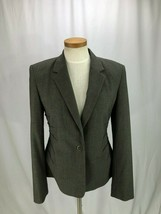 Calvin Klein Women's Brown Blazer Jacket 6 - $37.00