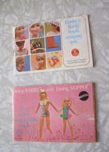 Barbie Doll Catalog Lot Mattel 1970s - $15.99