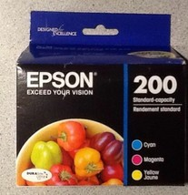 Epson 200 T200520 color ink XP200 XP300 XP310 XP400 XP410 printer copier... - $44.50