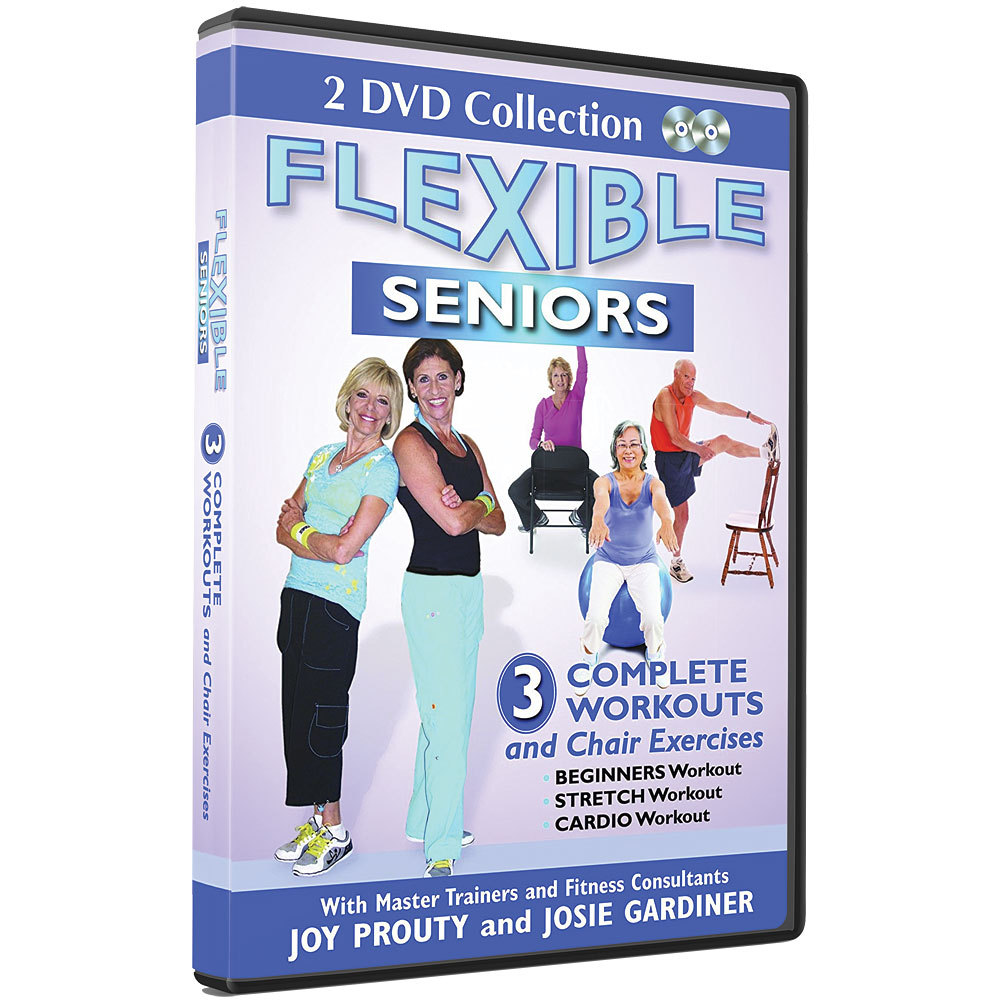 Fitness Dvd Seniors: Flexible Seniors DVD 3 Complete Workouts And Chair