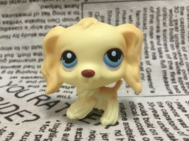 LPS #91 Cocker Spaniel Dog Puppy Blue Eyes Child Toys Loose - $6.92