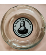 "La Gioconda Restaurant Brooklyn New York Glass Ashtray, 4-1/4"" x 1"" round - $15.95"