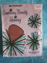 Bettersox American Beauty Hosiery Nylons Stockings Size 10 Style 600R 10... - $12.16