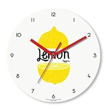 Happy Virus 1148 Lemon Slice MDF Non-Ticking Silent Quartz Decorative Modern Rou