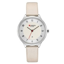 CURREN Ultra Thin Watches Womens Fashion Genuine Leather Quratz Wris Watch Reloj - $33.77
