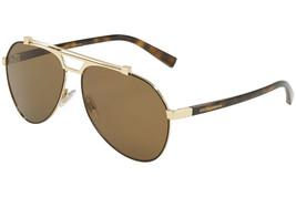 Dolce Gabbana Men Sunglasses DG2189  Pilot 61mm Authentic  - $149.00