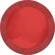 """Red Glitz Glittering PlaceMat 14"""" Place Mat 8 Ct - $10.79"""