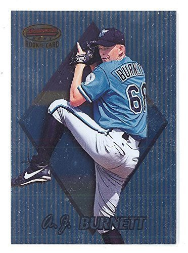1999 Bowman's Best A.J. Burnett RC #155 Baseball Rookie Card Philadelphia Philli