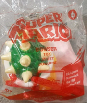 BOWSER Super Mario McDonalds Happy Meal Toy #6 2017 New In Package - $6.82