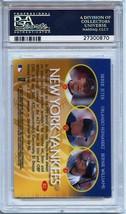 2000 Topps Gold Label Bullion #B2 Derek Jeter, Orlando Hernandez PSA 9 image 2