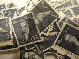"Thomas Paine .40 ""1965-79"" Prominent Americans CV $25.00 Scott no.1292-1... - $3.99"