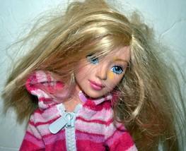 Barbie & Me Plush Doll Pink Jumper 2004 Mattel - $4.77