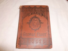 Vtg Old Antique Display Series Book George Eliot Works Mill On The Floss - $27.99