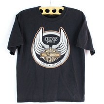 Harley Davidson 105th Año Camiseta HD 08 Milwaukee Wisconsin TALLA S Corto - $17.73