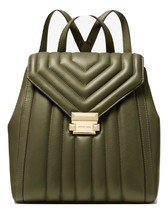 MICHAEL MICHAEL KORS Whitney Quilted Leather Backpack MSRP: $358.00 - $257.39