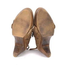 Coclico Brown Suede Leather Ankle Boots Booties Zip Womens EU 37 / US 6.5 - 7 image 6