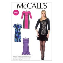 McCall Pattern Company M6988 Misses' Dresses, Size A5 (6-8-10-12-14) - $14.21