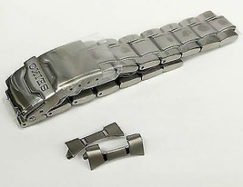Seiko 20mm Steel Bracelet Curved Ends For SND253 snd253_strap replacement - $94.90
