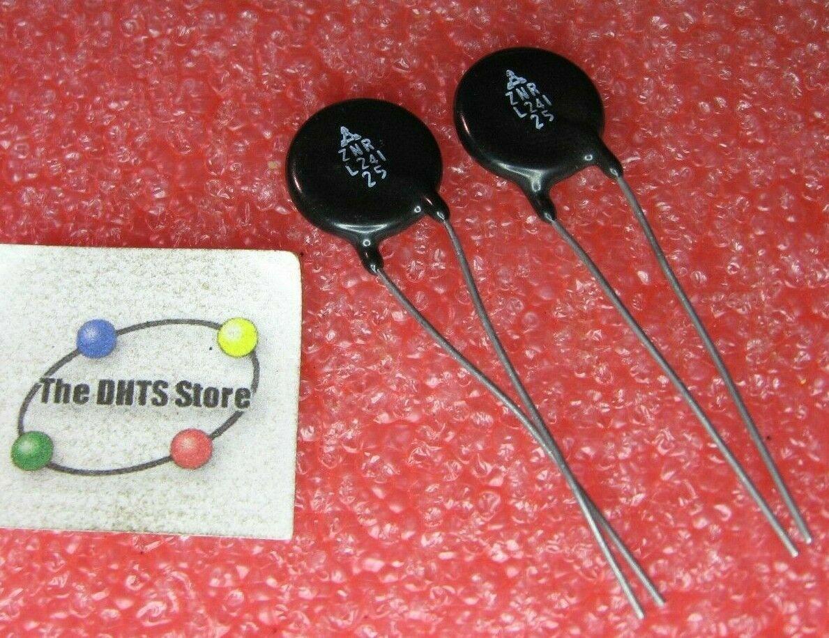 MOV V24ZA50P Littelfuse 19.2V 2KA Metal Oxide Varistor Radial Leads NEW Qty 5
