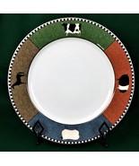 Oneida Barnyard Animals Chop Plate Warren Kimble Round Platter Brandon H... - $22.26