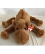 "TY 1998 Beanie Baby Buddy Original Brown Humphrey The Camel MWMT 12"" Lar... - $11.87"
