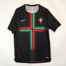 Nike Portugal FPF Squad Training Soccer Pre Match Jersey Sz L World Cup ... - $46.56
