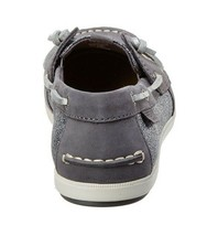 Sperry Top-Sider Women's Coil Ivy Dark Grey Leather Sparkle Boat Shoes STS99659 image 2