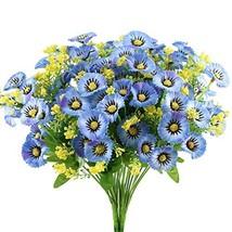 GTIDEA Artificial Daisy Flowers Bushes 4pcs Silk Floral Bundles Faux Pla... - €9,31 EUR