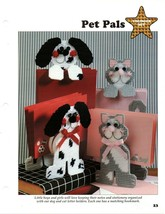 Plastic Canvas Patterns - Pet Pals & Creative Crayons - Younger Set - Al... - $1.97