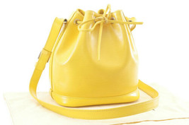 LOUIS VUITTON Epi Noe BB Shoulder Bag MIMOSA M40973 Auth 3121 - $772.10