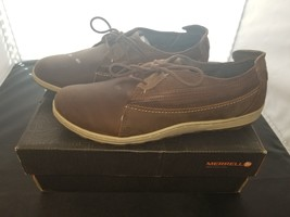 NIB Merrell Size 10.5 Medium Ashland Tie Brown Sugar Colorway Oxford Sho... - $48.42