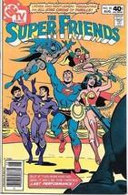 The Super Friends Comic Book #35 DC Comics TV Series 1980 VERY FINE/NEAR... - $11.64