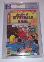 Archie at Riverdale High Comic #77 January 1981 PGX 8.0 - $25.00