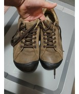 KEEN Briggs Men's Brown Leather Shoes Sneakers Casual Sz 11 not made any... - $54.45